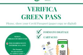 GREEN PASS: AL VIA L'OBBLIGO DAL 6 AGOSTO