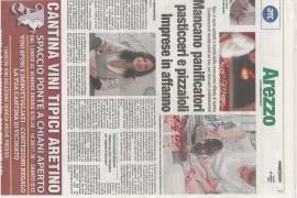 Corriere di Arezzo 25 ottobre 2021