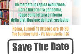 Editoria: il mercato dei libri tra pandemia, legge sulla lettura e riforma della scolastica, l'11 ottobre il convegno del SIL Confesercenti a Roma